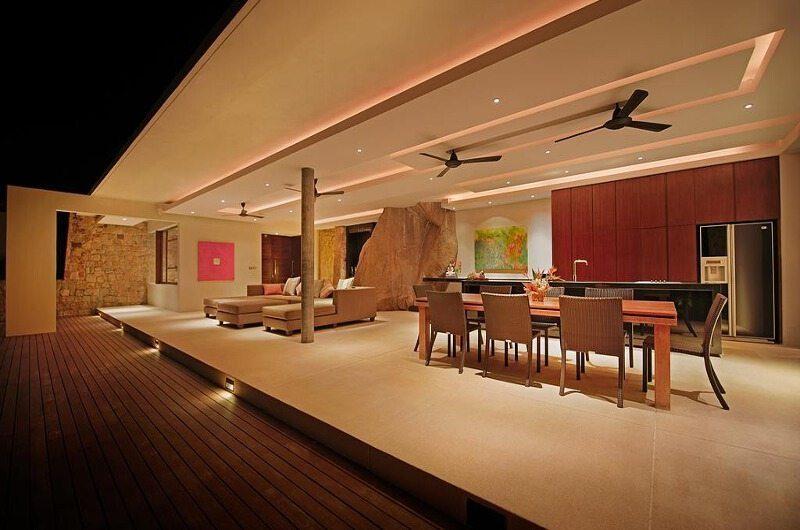 Samujana 15 Open Plan Dining Area | Koh Samui, Thailand