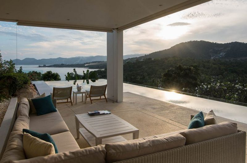 Samujana 17 Open Plan Living Room | Koh Samui, Thailand