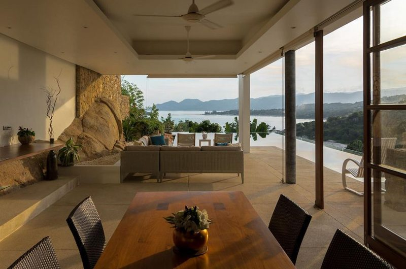 Samujana 17 Open Plan Living And Dining Area | Koh Samui, Thailand