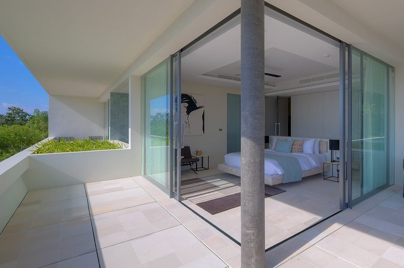 Samujana 26 Guest Bedroom Front View | Koh Samui, Thailand
