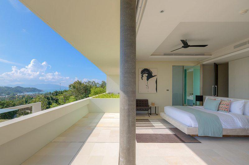 Samujana 26 Guest Bedroom Side View | Koh Samui, Thailand