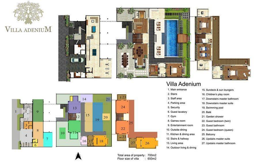 Villa Adenium Floor Plan