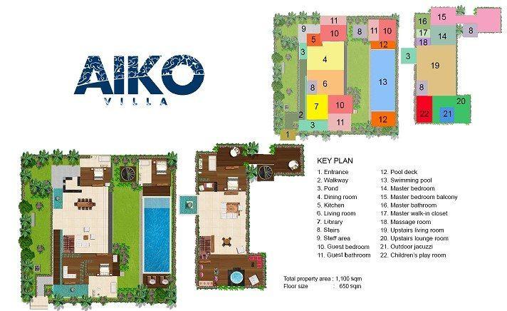 Villa Aiko Floor Plan