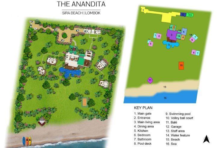 Villa Anandita Floor Plan