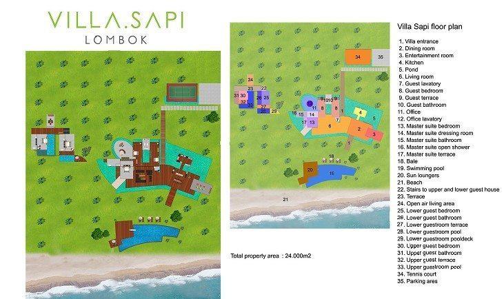 Villa Sapi Floor Plan