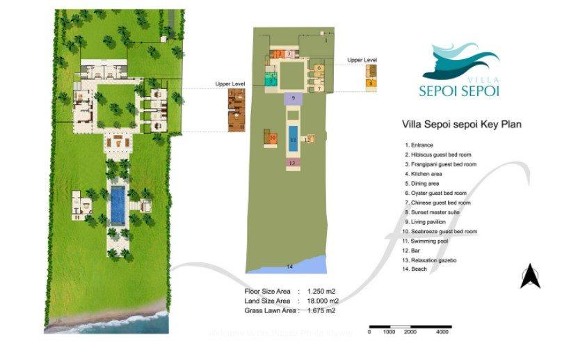 Villa Sepoi Sepoi Floor Plan