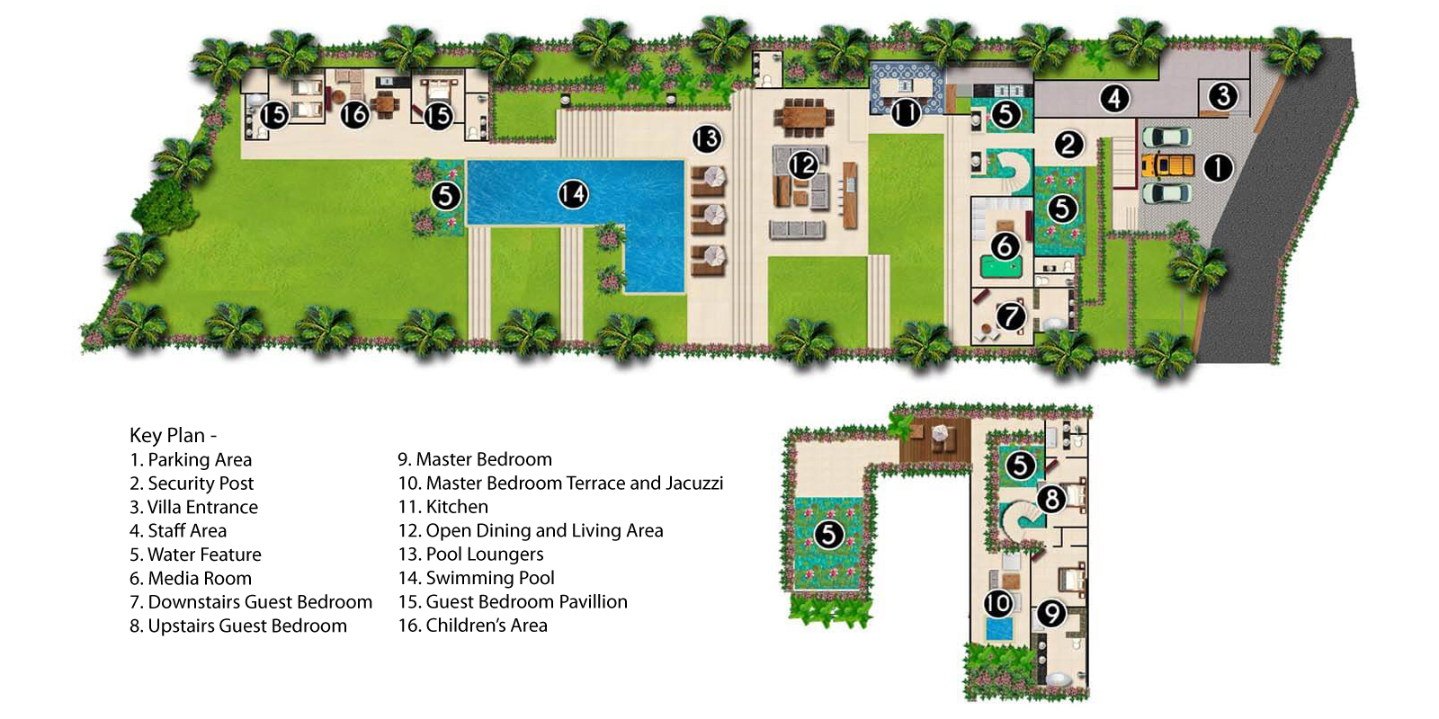 The Iman Villa Floorplan | Pererenan, Bali