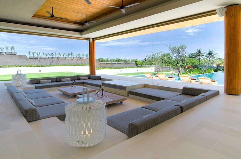 The Iman Villa Open Plan Living | Canggu, Bali
