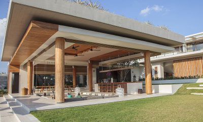 The Iman Villa Living Area   Pererenan, Bali
