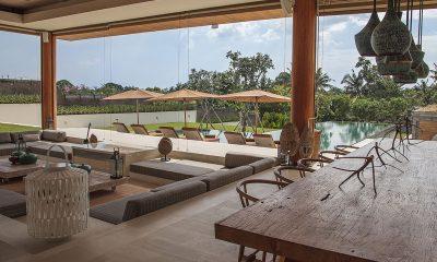The Iman Villa Living and Dining Area   Pererenan, Bali