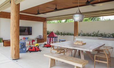 The Iman Villa TV Room and Kids Play Area   Pererenan, Bali