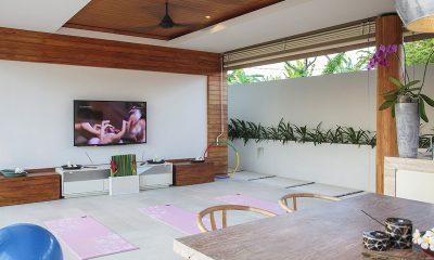 The Iman Villa TV Room   Pererenan, Bali