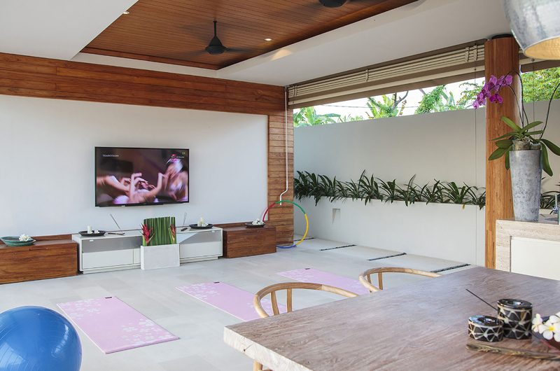 The Iman Villa TV Room | Pererenan, Bali