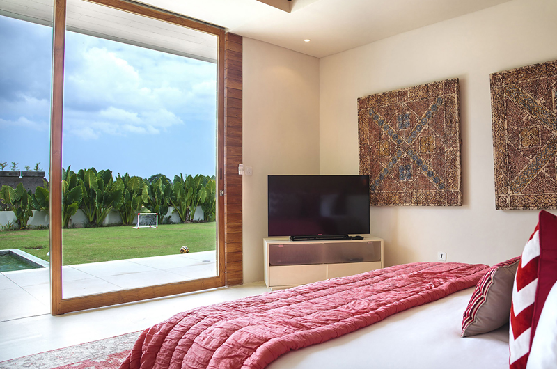 The Iman Villa Bedroom with Pool View | Pererenan, Bali
