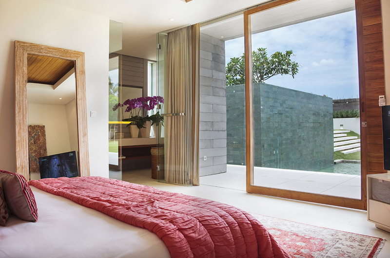 The Iman Villa Bedroom View | Pererenan, Bali