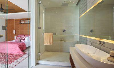 The Iman Villa Bedroom with Bathroom   Pererenan, Bali