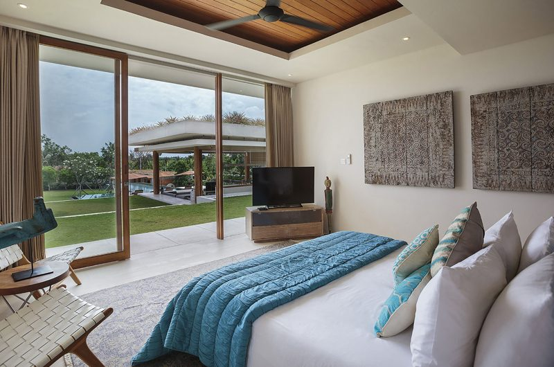 The Iman Villa Bedroom with Garden View | Pererenan, Bali