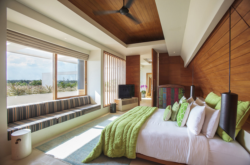 The Iman Villa Bedroom with Seating Area | Pererenan, Bali