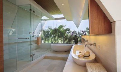 The Iman Villa Bathroom with Bathtub   Pererenan, Bali