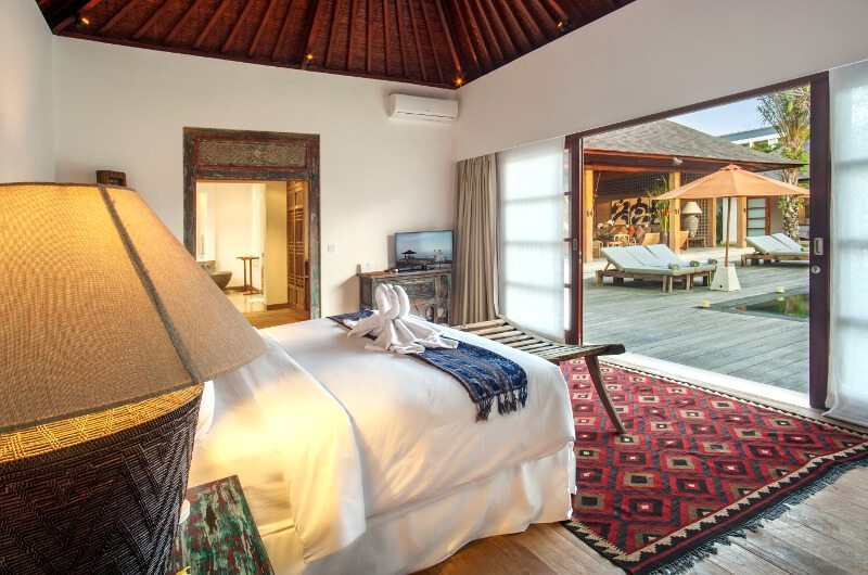 Villa Tiga Puluh Bedroom With Pool Views | Seminyak, Bali