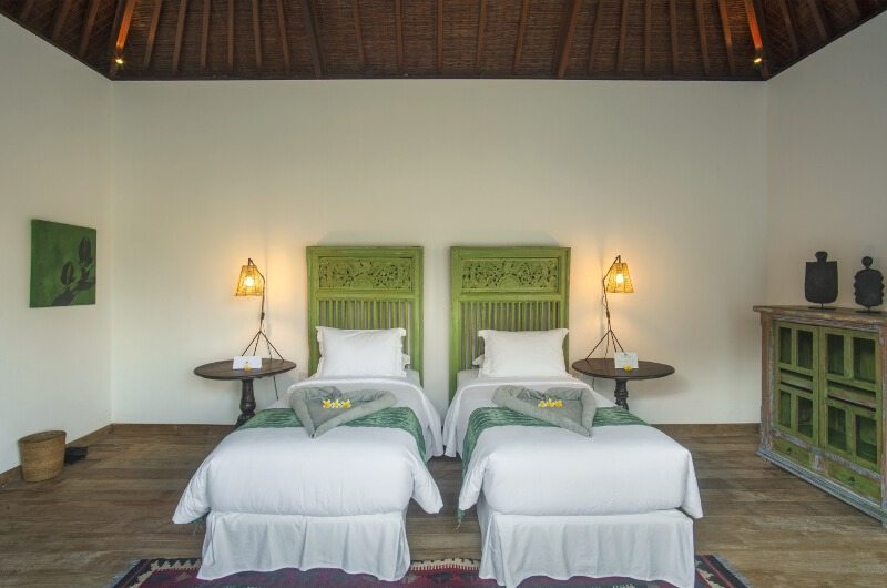 Villa Tiga Puluh Twin Bedroom Interiors | Seminyak, Bali