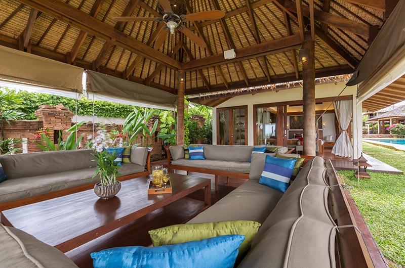 Baan Mika Open Plan Living Area | Choeng Mon, Koh Samui