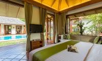 Baan Mika Bedroom with TV | Choeng Mon, Koh Samui