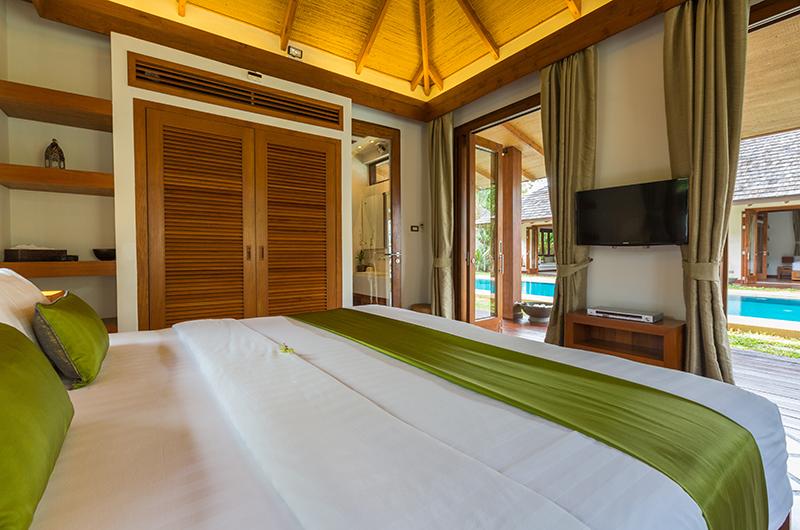 Baan Mika Bedroom One with TV | Choeng Mon, Koh Samui