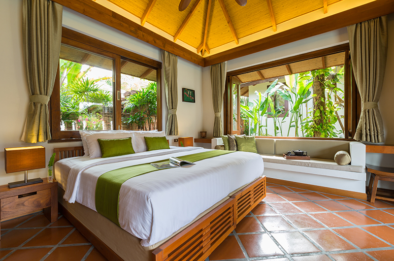 Baan Mika Bedroom One with Seating | Choeng Mon, Koh Samui