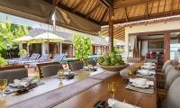 Baan Mika Open Plan Dining Area | Choeng Mon, Koh Samui
