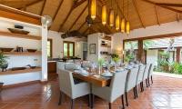 Baan Mika Dining Area | Choeng Mon, Koh Samui