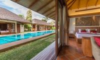 Baan Mika Bedroom with Pool View | Choeng Mon, Koh Samui