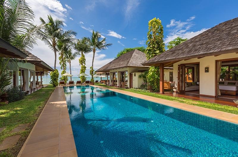 Baan Mika Pool Area | Choeng Mon, Koh Samui