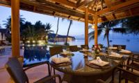 Baan Tawantok Estate Pool Side Dining | Lipa Noi, Koh Samui