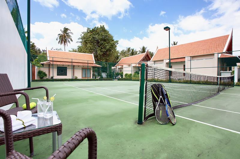 Baan Tawantok Estate Tennis Court | Lipa Noi, Koh Samui