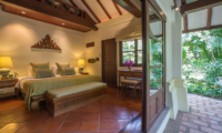 Ban Haad Sai Bedroom with Seating Area | Bang Rak, Koh Samui