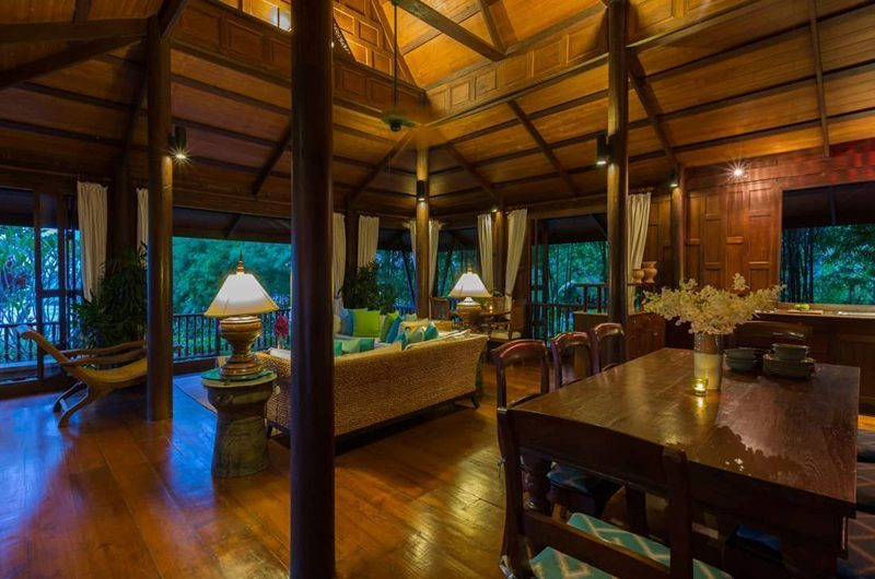 Ban Sairee Living And Dining Area | Koh Samui, Thailand