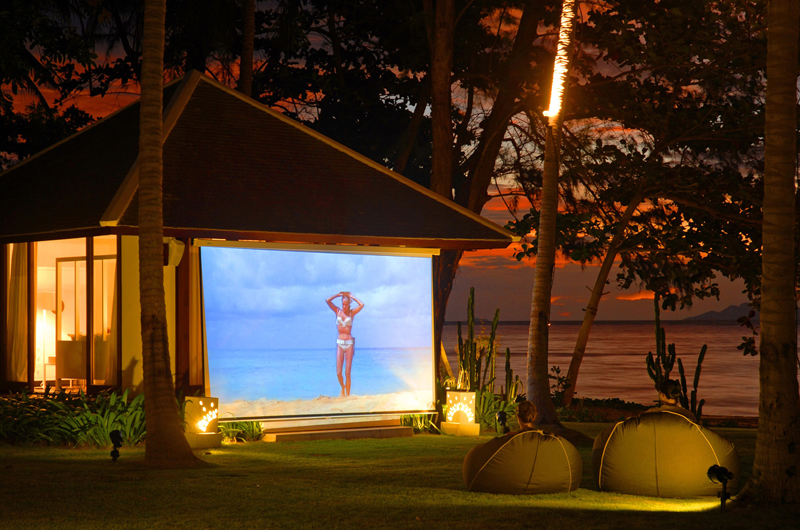 Ban Suriya Private Outdoor Movie | Lipa Noi, Koh Samui