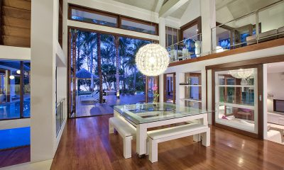 Ban Suriya Interior at Night | Lipa Noi, Koh Samui