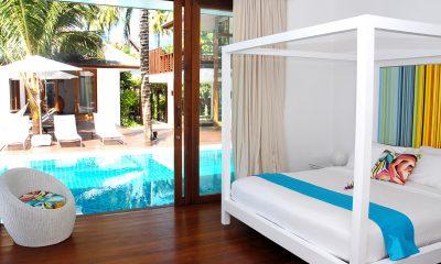Ban Suriya Bedroom with Pool View | Lipa Noi, Koh Samui