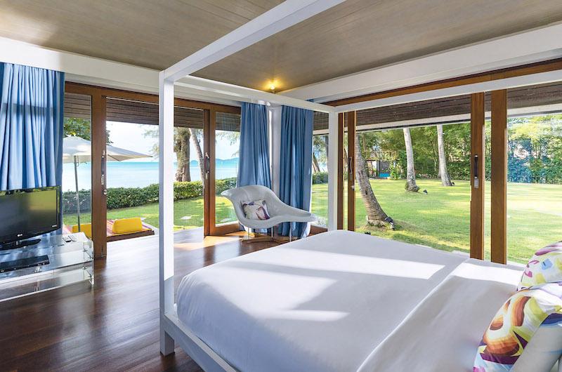 Ban Suriya Bedroom with Garden View | Lipa Noi, Koh Samui