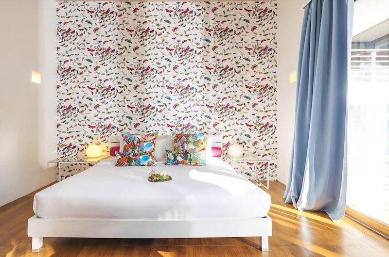 Ban Suriya Bedroom with Lamps | Lipa Noi, Koh Samui