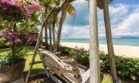 Bougainvillea Villa Seating | Maenam, Koh Samui