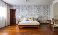 Bougainvillea Villa Bedroom Area | Maenam, Koh Samui