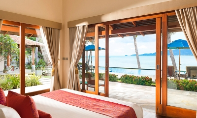 Tawantok Beach Villas Bedroom One | Lipa Noi, Koh Samui
