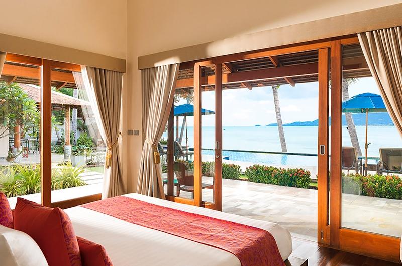 Tawantok Beach Villas Bedroom One | Lipa Noi, Koh Samui