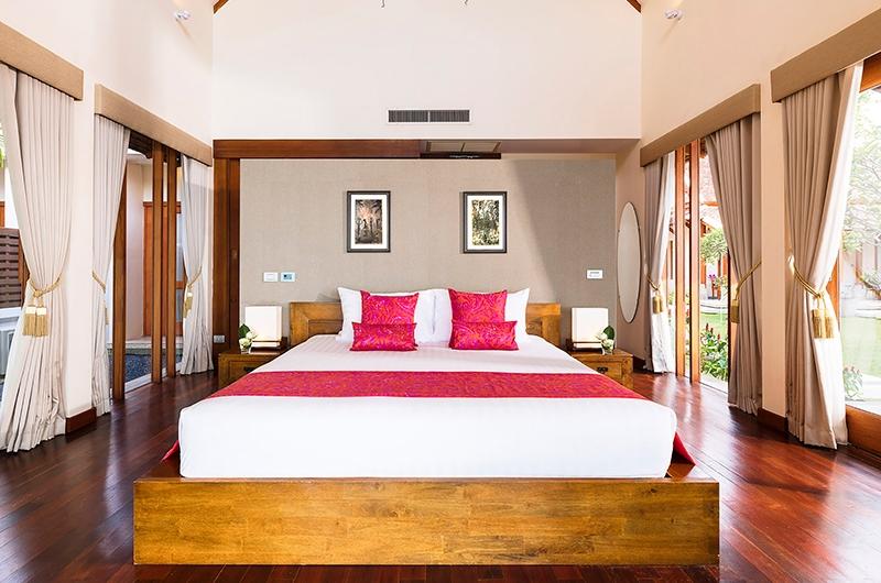 Tawantok Beach Villas Bedroom | Lipa Noi, Koh Samui