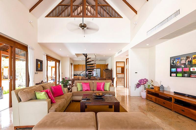 Tawantok Beach Villas Living Area | Lipa Noi, Koh Samui