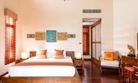 Tawantok Beach Villas Bedroom with Seating | Lipa Noi, Koh Samui
