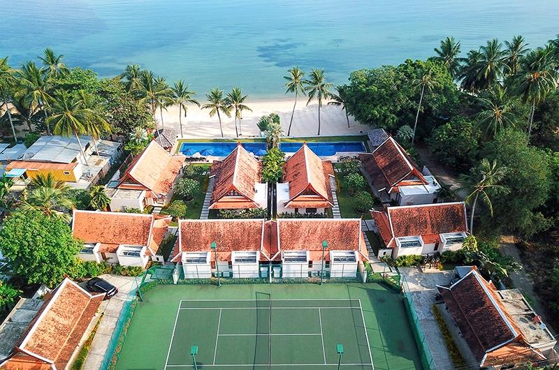 Tawantok Beach Villas Tennis Court | Lipa Noi, Koh Samui